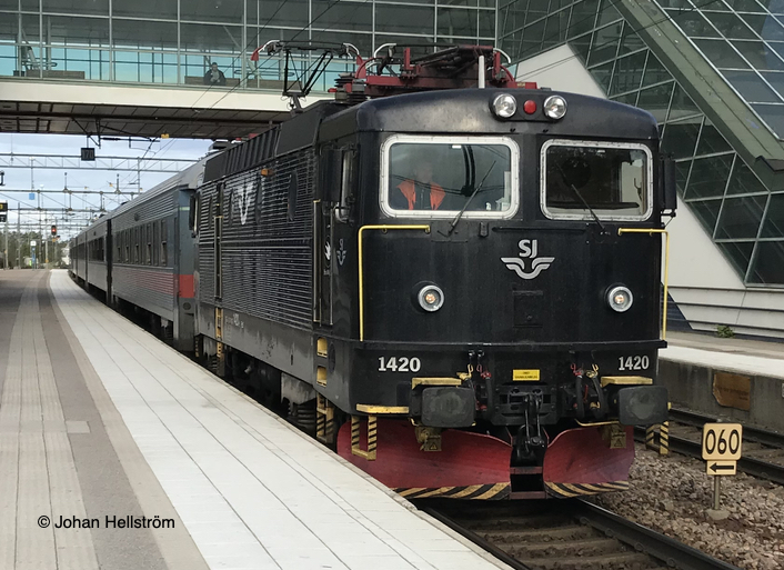 tåg stockholm läggesta